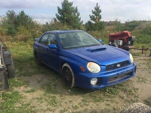 2002 wrx great project car