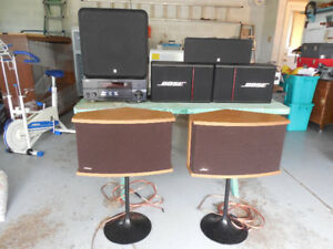 Bose Speakers with Yamaha Receiver