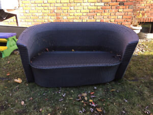 Outdoor love seat for sale