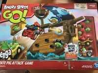 Angry Birds Jenga