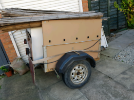 Car trailer ideal tip run camping end removes 4 low loading