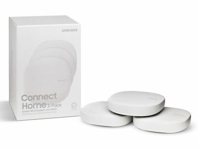 Samsung Connect Home AC1300 Whole Home Wi-Fi System & Smart Home Hub (3-Pk) NEW