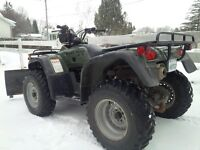 2000 Honda Foreman 450 ES 4x4 ATV with plow for Sale