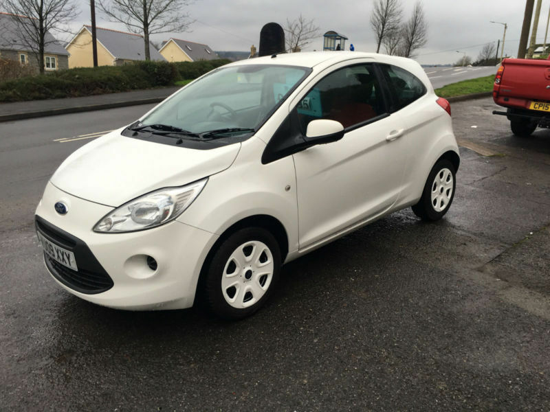 Ford Ka   Style New Model White K Miles S History