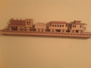 Handcrafted Wooden Train