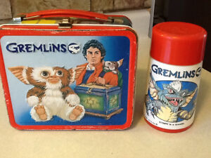 1984 GREMLINS METAL LUNCH BOX WITH THERMOS London Ontario image 2