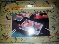 ***SUSHI-Making Kit, for FOUR, With Decorative Tin-REDUCED!!***