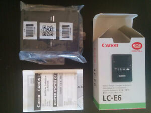 Brand New Canon LC-E6 Battery Charger