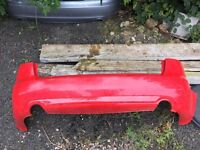 Audi A4 B7 Avant , estate S Line rear bumper on red , 2005-2008