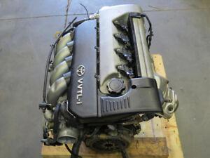 JDM 00-05 TOYOTA CELICA GTS 1.8L 2ZZ-GE Engine Motor, 6MT ECU,