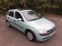 2002 Vauxhall Corsa Comfort 1.2 5 Door ** Full Service History **