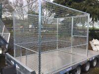 Dog run puppy run for dog kennel enclosure