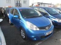 2009 Nissan Note MPV 1.5dCi 86 Tekna Diesel blue Manual