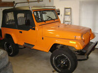 1989 Jeep Wrangler Islander Coupe (2 door)
