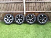 "18"" Rota Grid Style Alloys - Jap Wheels - Honda Civic, GTR, Celica, Mazda etc"