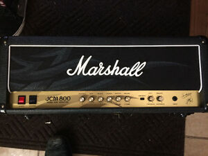 MARSHALL JCM 800 KERRY KING SUPER CLEAN,NEW TUBES