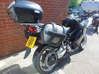 2011(11) BMW F800ST Tourer with 3 part luggage