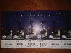 Grey Cup Tickets! Up to 6 in a row!
