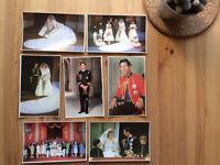 Gorgeous British Royal Family vintage postcards x 15