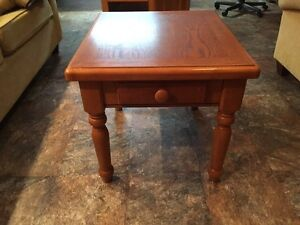 End Table (Solid Oak)