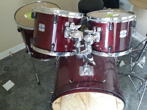 Yamaha Stage Custom Drum Kit - Shell Pack (No Snare) Birch
