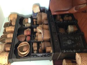 Antique Fertility Cabinet