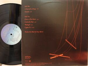 Rush-very rare 1st pressing of A farewell to kings Lp