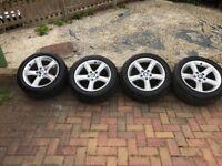 Bmw,320, alloys, new tyres, £350