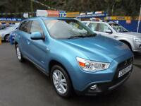 2010 60 MITSUBISHI ASX 4 1.8 DI-D CLEAR TEC IN BLUE # LOW MILES TOP SPEC #