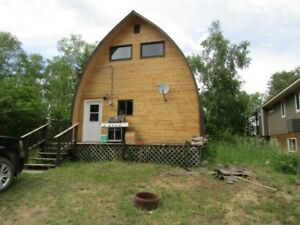 Lake View Cabin For Sale in the Resort Village of Tobin Lake