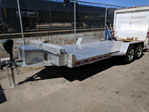 All aluminum car hauler