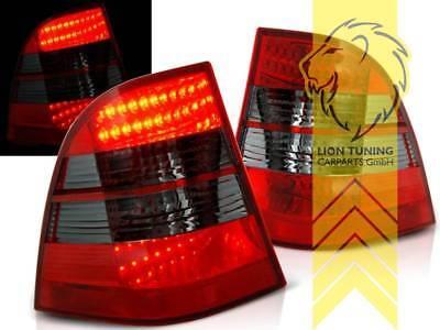 LED Rückleuchten Heckleuchten für Mercedes Benz W163 ML M-Klasse rot schwarz