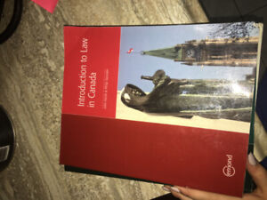 semester one paralegal textbooks (mohawk college)