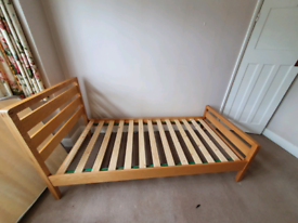 For sale. Single bed.