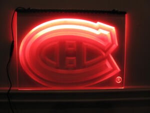 Canadians,Leafs,neon lights $48 Good Friday at North Side Market