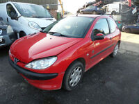 Peugeot 206 1.1 8v Independence DAMAGED REPAIRABLE SALVAGE