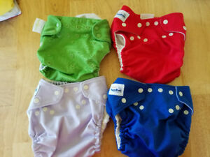 10 Couches lavable / cloth diapers