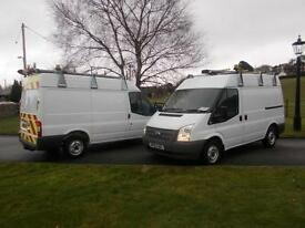FORD TRANSIT 280 100PS SEMI HIGH VAN 62 REG ONLY 34,900 MILES CHOICE OF TWO