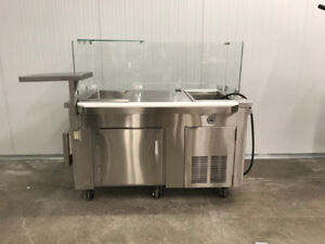 Nella - Custom Made Refrigerated Cold Counter - On Clearance