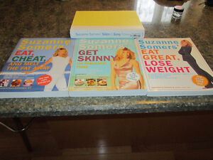 Suzanne Sommers' Diet Books $25 for 4 Books