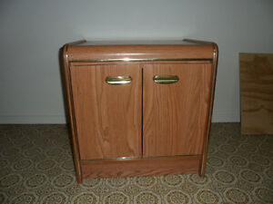 Gold Trim Dresser & Night Stand - Best Offer