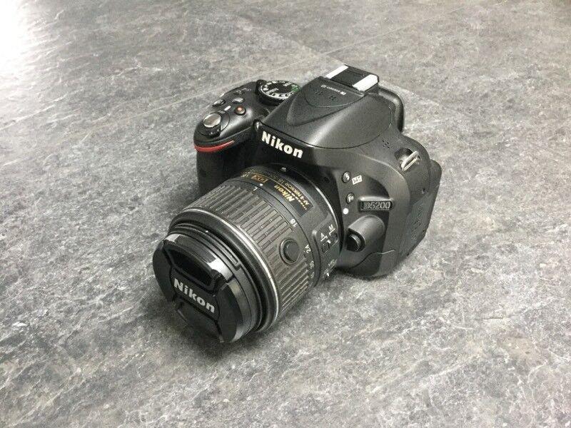 Nikon Digital SLR Camera - D5200 with 18-55mm AF-S VR Lens Kit