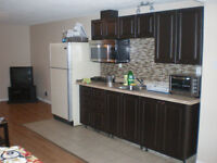 Two Rooms Available in the Three Room Basement Suite for Rent