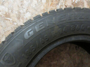 14 in. Used Winter Tires