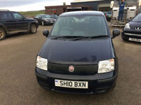 2010 10 Fiat Panda 1.1 Active ECO Petrol Blue 5 Door MOT April 2018 £30 Road Tax