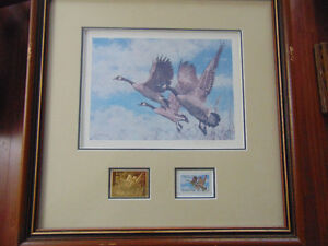 Wildlife Habitat Canada / Prints with Stamps / s-n London Ontario image 2