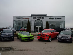 AllRoads Dodge Chrysler Jeep Ram takes all Trades