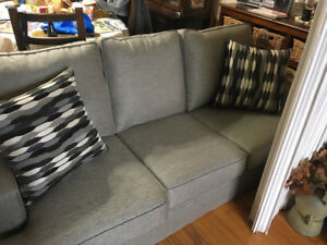 Selling Furniture, Couch, Love seat, table.