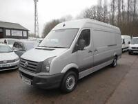 2012 VOLKSWAGEN CRAFTER CR35 109 BHP TDI LWB HIGH ROOF PANEL VAN DIESEL