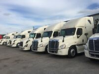 2011 Freightliner Cascadia 7 units to choose with warranty